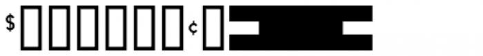 Shelf Tags JNL Font OTHER CHARS