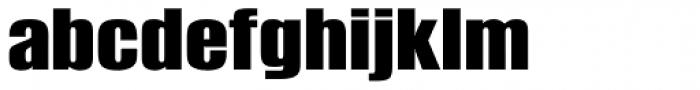 Shelflife Expanded Font LOWERCASE