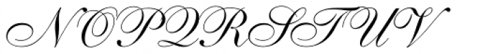 Shelley Allegro Script Font UPPERCASE