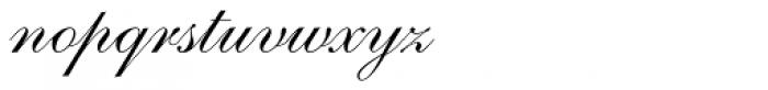 Shelley Script Pro Font LOWERCASE