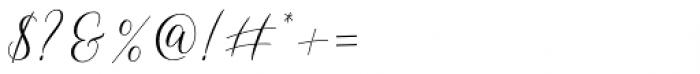 Shelline Regular Font OTHER CHARS