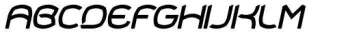 Shelter Italic Font UPPERCASE