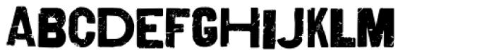 Shelton Font LOWERCASE