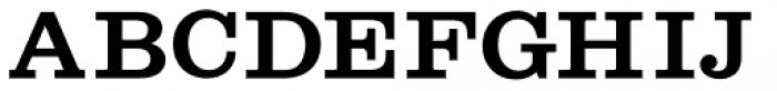 Shenandoah Clarendon Bold Font UPPERCASE