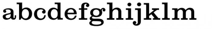 Shenandoah Clarendon Regular Font LOWERCASE