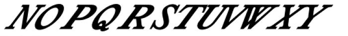 Shenandoah Font UPPERCASE