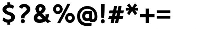 Sherbrooke Bold Font OTHER CHARS