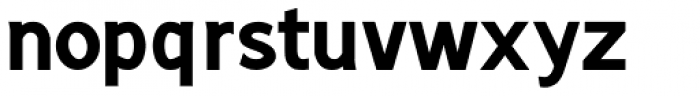 Sherbrooke Bold Font LOWERCASE