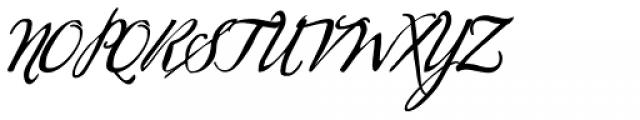 Sherlock Script 1 Font UPPERCASE