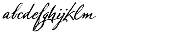 Sherlock Script 1 Font LOWERCASE