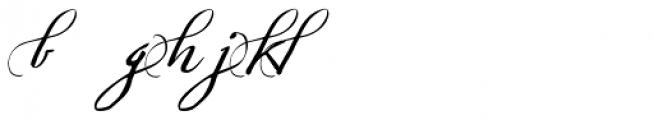 Sherlock Script 5 Font LOWERCASE