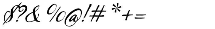 Sherlock Script Font OTHER CHARS