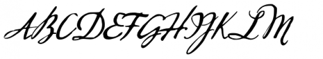 Sherlock Script Font UPPERCASE