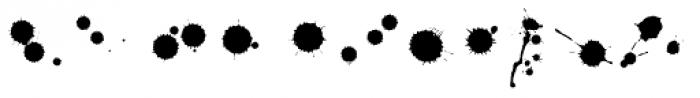 Sherlock Stuff Dots Font UPPERCASE
