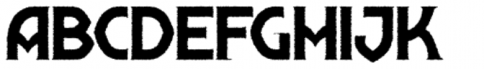 Shervington Weathered Font UPPERCASE