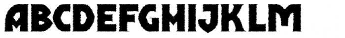 Shervington Weathered Font LOWERCASE