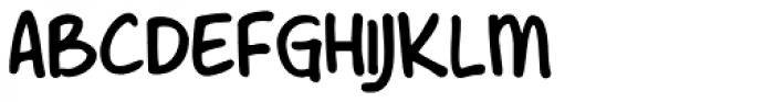 Shesek Font UPPERCASE