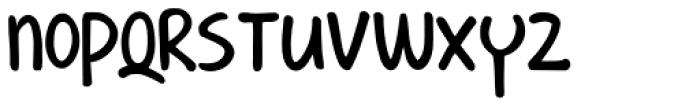 Shesek Font LOWERCASE