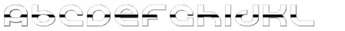 Shibuya Dancefloor Chrome Font LOWERCASE