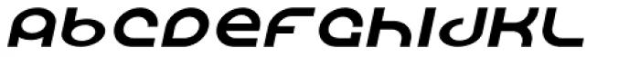 Shibuya Dancefloor Thin Italic Font LOWERCASE