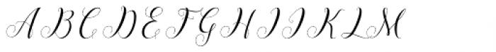 Shila Script Regular Font UPPERCASE
