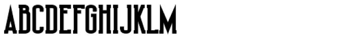 Shiloh Serif Black Font UPPERCASE