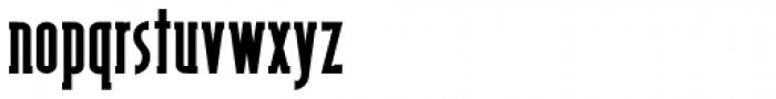 Shiloh Serif Black Font LOWERCASE