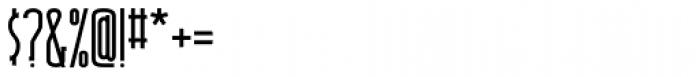 Shiloh Serif Plain Font OTHER CHARS