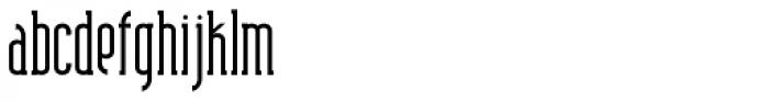 Shiloh Serif Plain Font LOWERCASE