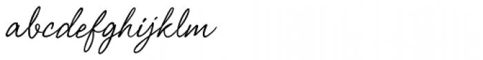 Shimmer Font LOWERCASE