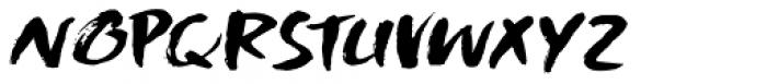 Shinano Italic Font UPPERCASE