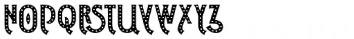 Shining Night Regular Font UPPERCASE