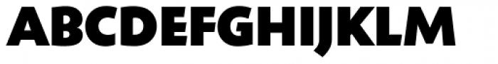 Shinn RR ExtraBold Font UPPERCASE