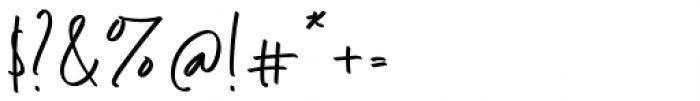 Shinthink Regular Font OTHER CHARS