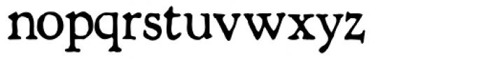 Shipley Rough Font LOWERCASE