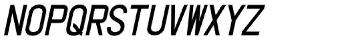 Shipping Carton Oblique JNL Font LOWERCASE