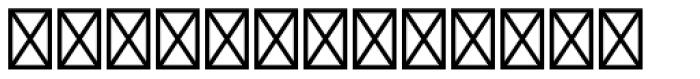 Shirah 25 Font LOWERCASE
