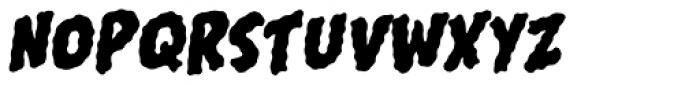 Shiver Font UPPERCASE