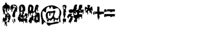 Shlop Shloppy Font OTHER CHARS
