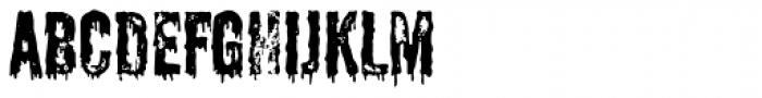 Shlop Shloppy Font UPPERCASE