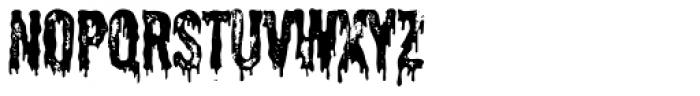 Shlop Shloppy Font LOWERCASE