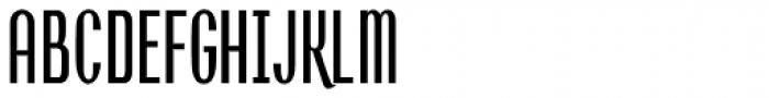 Shockproof Font UPPERCASE