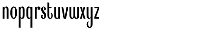 Shockproof Font LOWERCASE