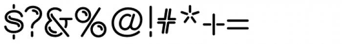 Shockwave Font OTHER CHARS
