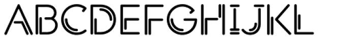 Shockwave Font UPPERCASE