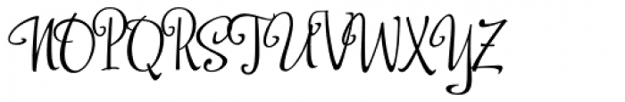 Shoebop Font UPPERCASE