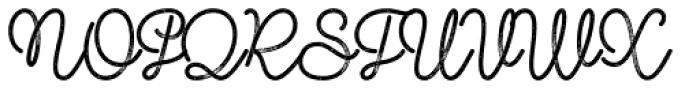 Shoelaces FX Font UPPERCASE
