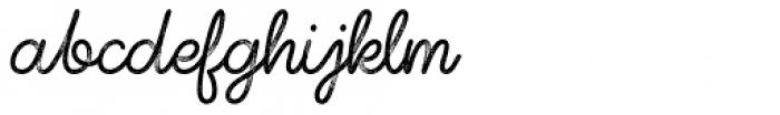 Shoelaces FX Font LOWERCASE