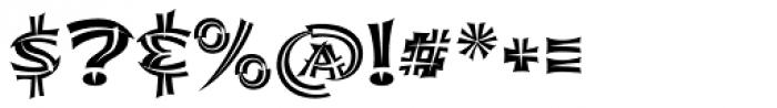Shojumaru Pro Split Font OTHER CHARS