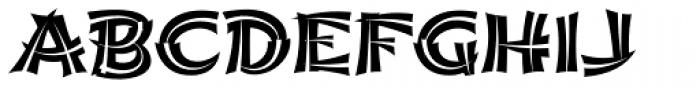 Shojumaru Pro Split Font UPPERCASE